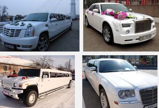 авто на прокат на свадьбу