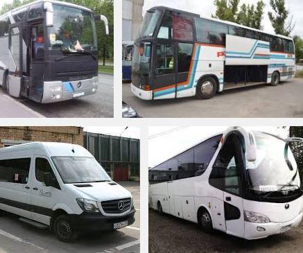 заказ автобуса на свадьбу
