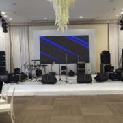 Концертное звуковое оборудование