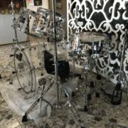 Прозрачная барабанная установка
